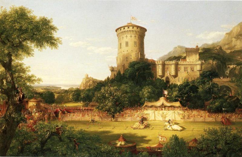 Thomas Cole. The Past.