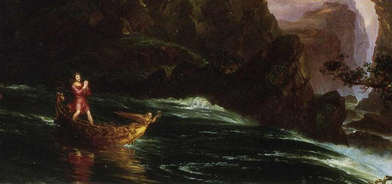 Thomas Cole. The Voyage of Life: Manhood. Detail.