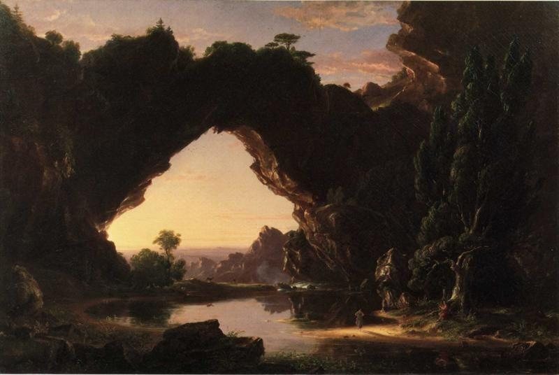 Thomas Cole. Evening in Arcady.