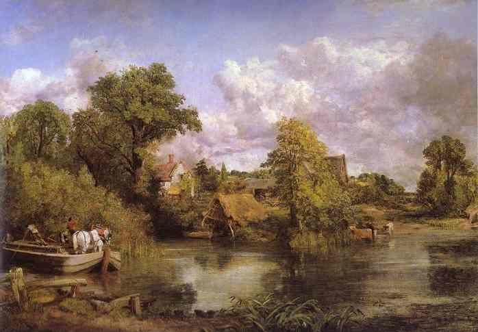 John Constable. The White Horse.
