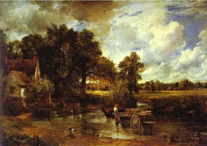 John Constable The Haywain John Constable. Landsc...