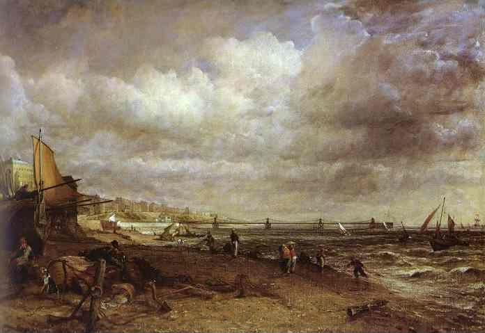 John Constable. The Chain Pier, Brighton.