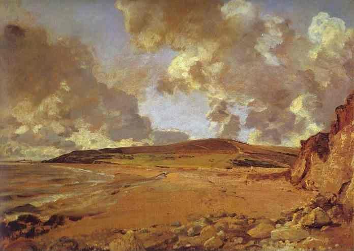 John Constable.  Weymouth Bay.