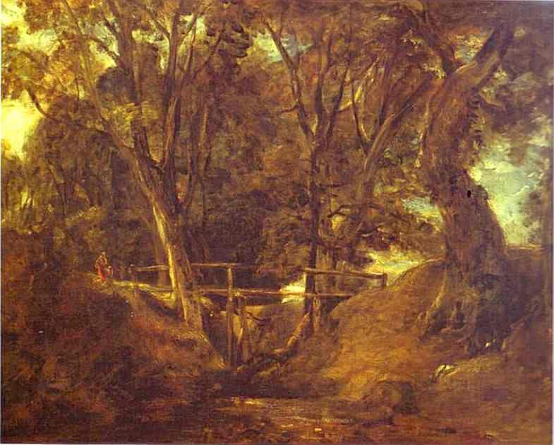 John Constable. Helmingham Dell.