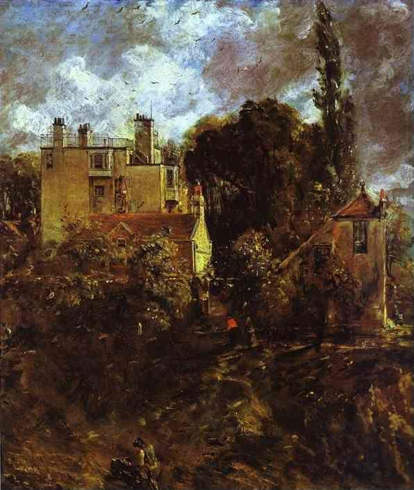 John Constable. The Admiral's House.