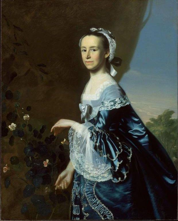 John Singleton Copley. Mercy Otis Warren (Mrs. James Warren).