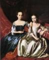 John Singleton Copley. Mary MacIntosh Royall and Elizabeth Royall.