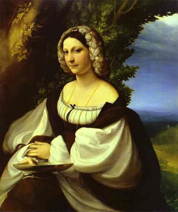Correggio. Portrait of a Lady.