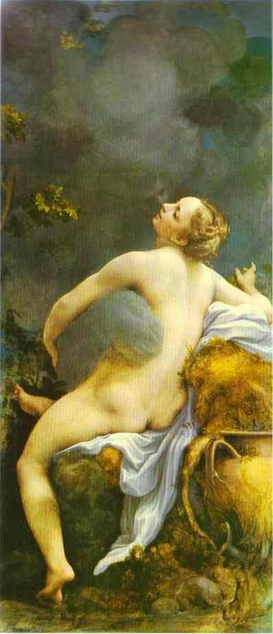 Correggio. Zeus and Io.