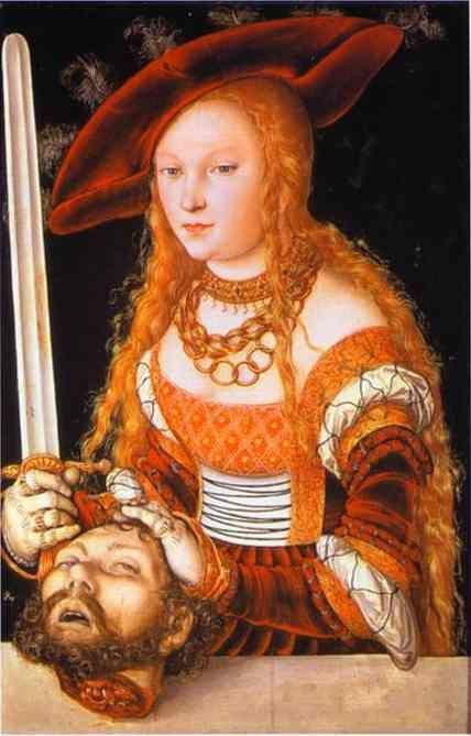 Lucas Cranach the Elder. Judith with the Head of Holofernes.