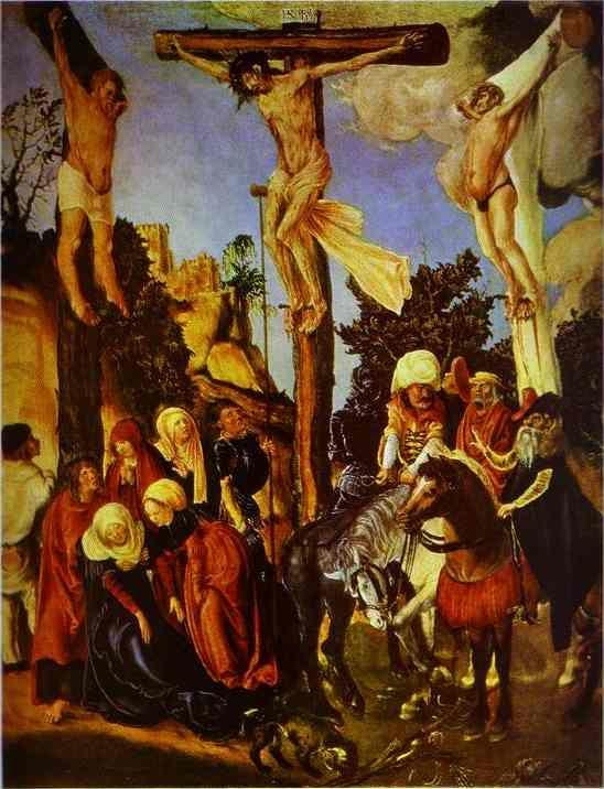 Lucas Cranach the Elder. The Crucifixion.