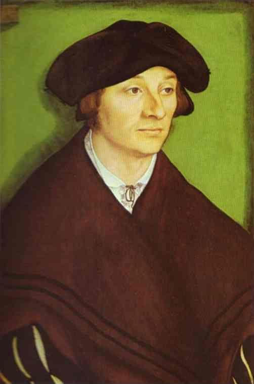Lucas Cranach the Elder. Portrait of a Man.