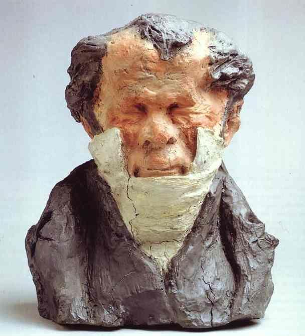 Honore Daumier. Jean-Ponce-Guillaume Viennet (1777-1868), Deputy, Peer of France and Academician.