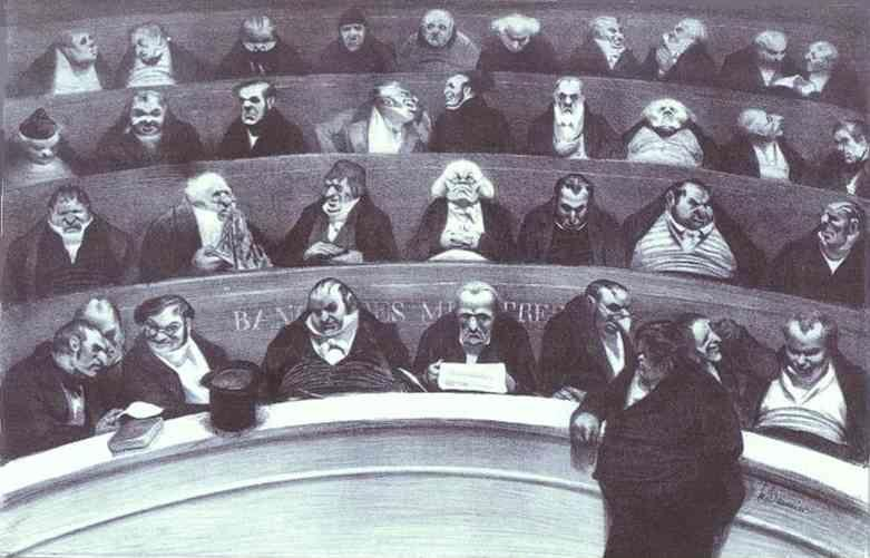Honore Daumier. The Le...