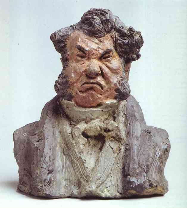 Honore Daumier. Laurent Cunin, Also Called Cunin-gridaine, (1787-1859), Deputy and Peer of France.