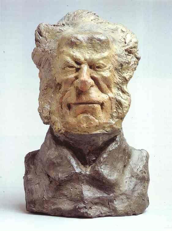Honore Daumier. Baron Jacques-Antoine-Adrien Delort (1773-1846), General and Deputy.