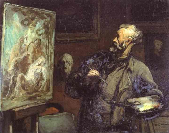 Honore Daumier. The Artist.