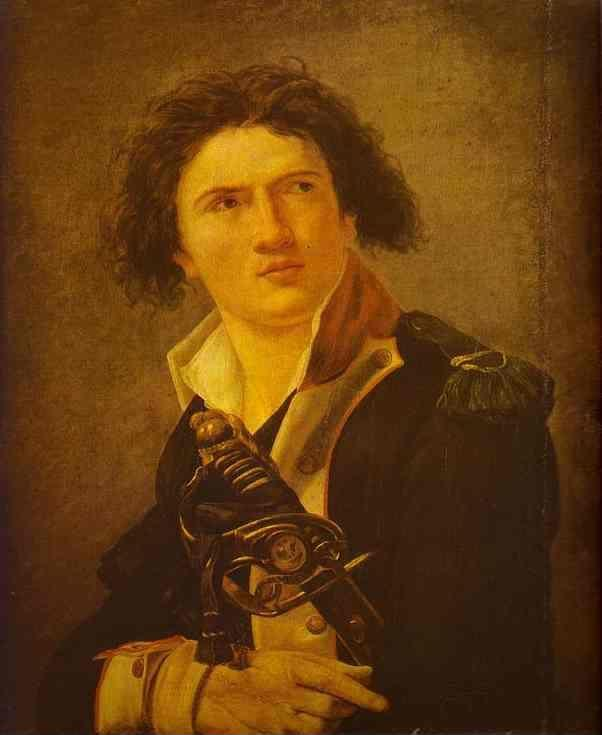Jacques-Louis David. Portrait of Lazre Hoche.