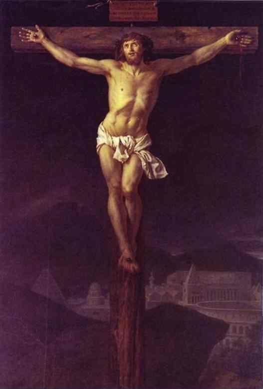 Jacques-Louis David. Christ on the Cross.