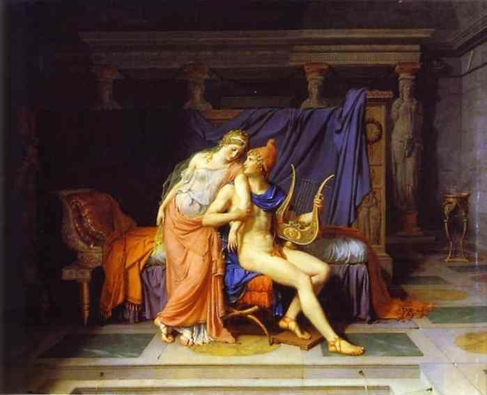 Jacques-Louis David. The Love of Paris and Helen.