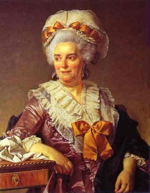 Jacques-Louis David. Portrait of Madame Pécoul, Mother-in-Law of the Artist.