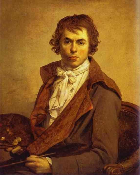 Jacques-Louis David. Self-Portrait.