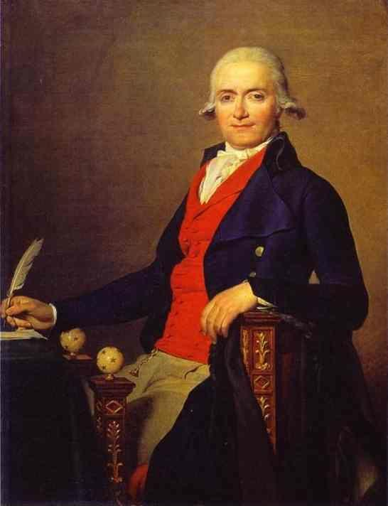 Jacques-Louis David. Portrait of Gaspar Mayer.