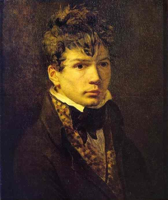 Jacques-Louis David. Portrait of Young Ingres (?).