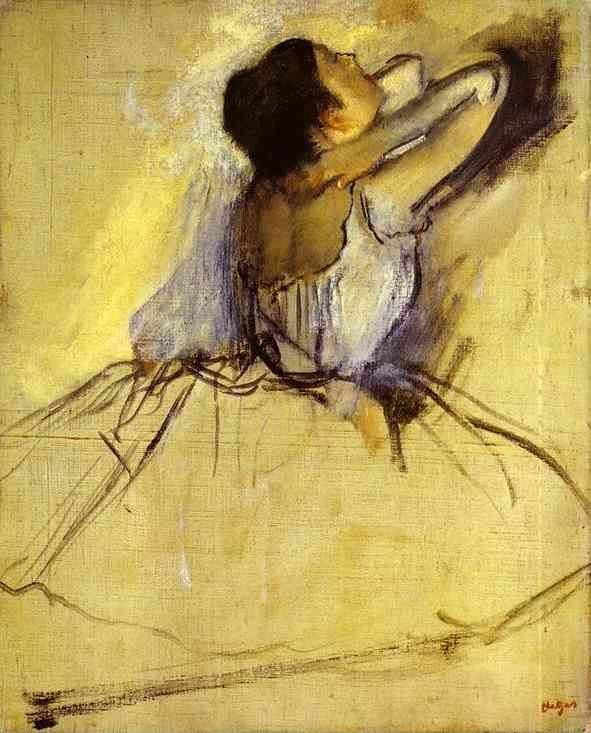 Edgar Degas. Dancer (Danseuse).