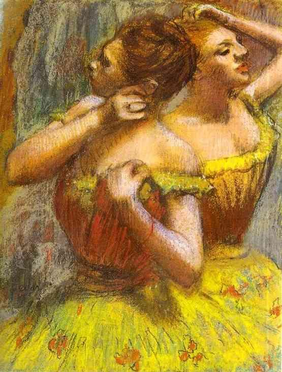 Edgar Degas. Two Dancers.(Deux danseuse).
