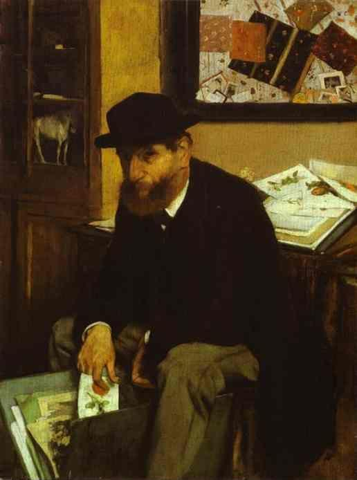 Edgar Degas. The Collector.