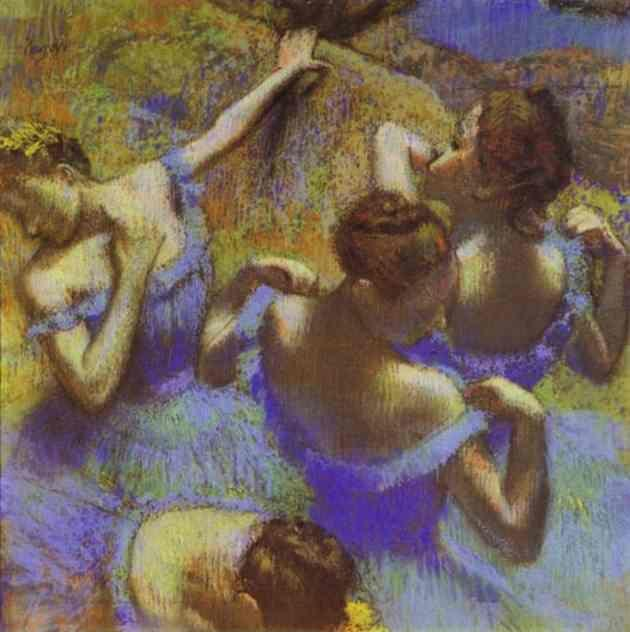 Edgar Degas. The Blue Dancers.