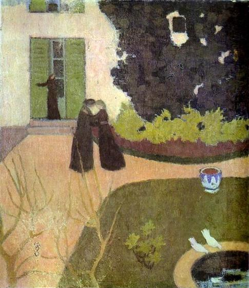 Maurice Denis. The Encounter.