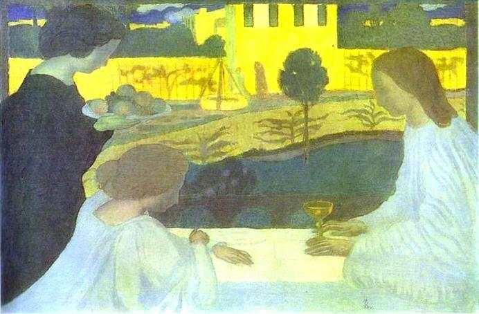 Maurice Denis. Martha and Mary.