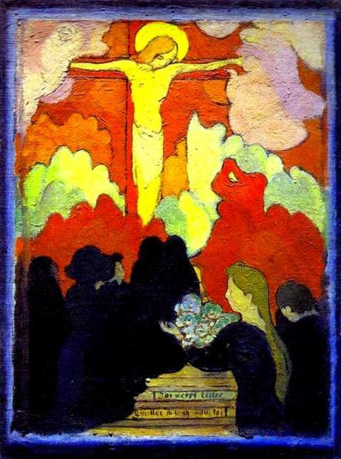 Maurice Denis. The Offertory at Calvary/Offrande au Calvaire.