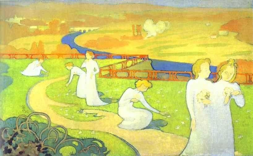 Maurice Denis. The Seasons Series: April/Cycle des saisons: Avril.