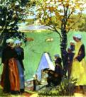 Maurice Denis. Sacred Spring in Guidel.