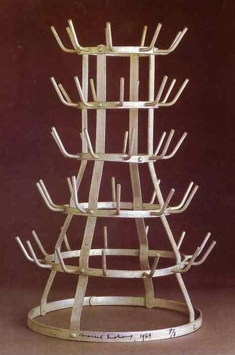 marcel duchamp bottle rack egouttoir or porte bouteilles. Black Bedroom Furniture Sets. Home Design Ideas