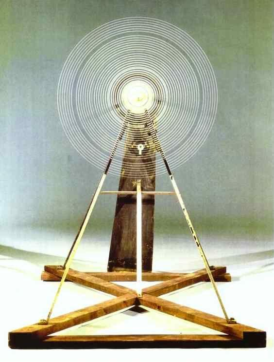 Marcel Duchamp. Rotary Glass Plates (Precision Optics).