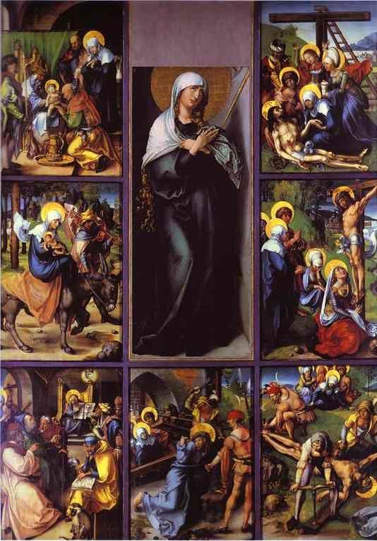 Albrecht Durer. The Seven Sorrows of the Virgin.