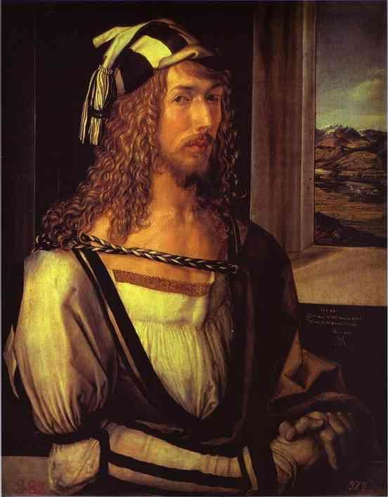 Albrecht Durer. Self-Portrait at 26.