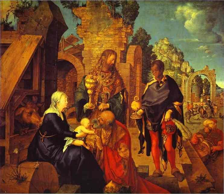 Albrecht Durer. The Adoration of the Magi.