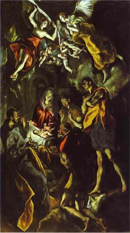 El Greco. The Adoration of the Shepherds.