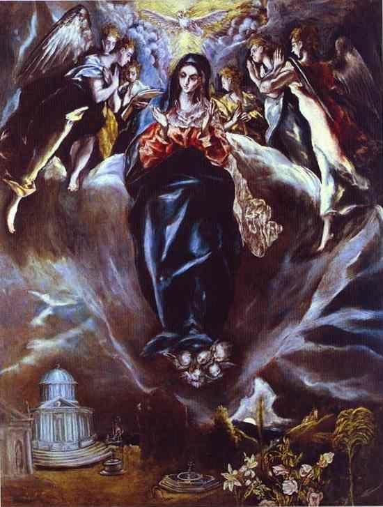 El Greco. The Immaculate Conception.