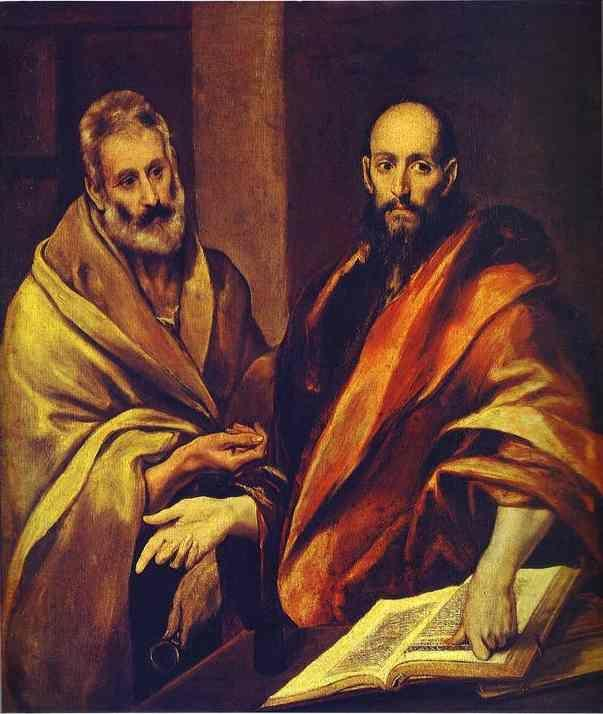 El Greco. St. Paul and St. Peter.