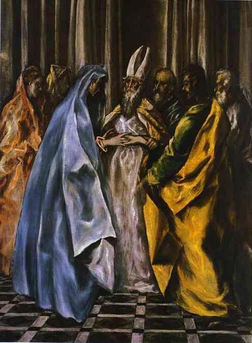 El Greco. The Marriage of the Virgin.