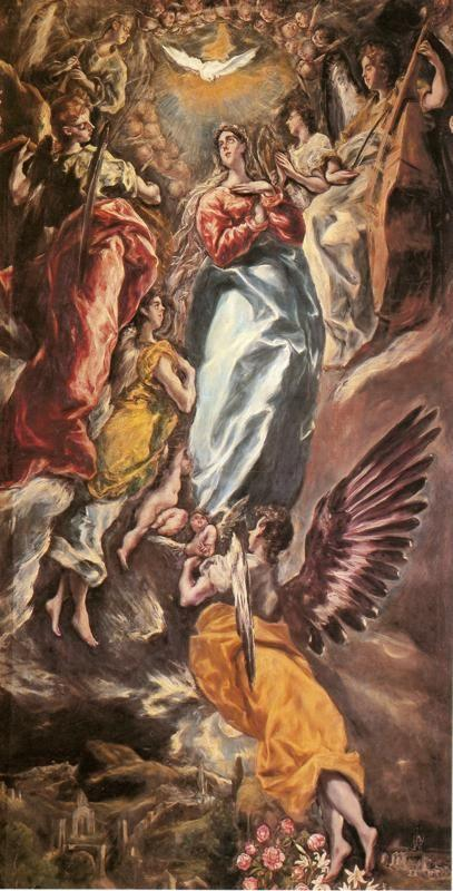 El Greco. Virgin of the Immaculate Conception.