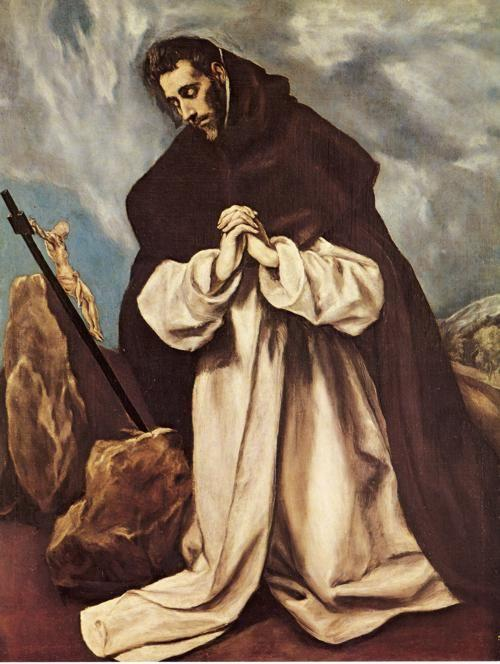 El Greco. St. Dominic in Prayer.
