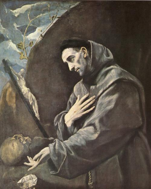 El Greco. St. Francis in Meditation.