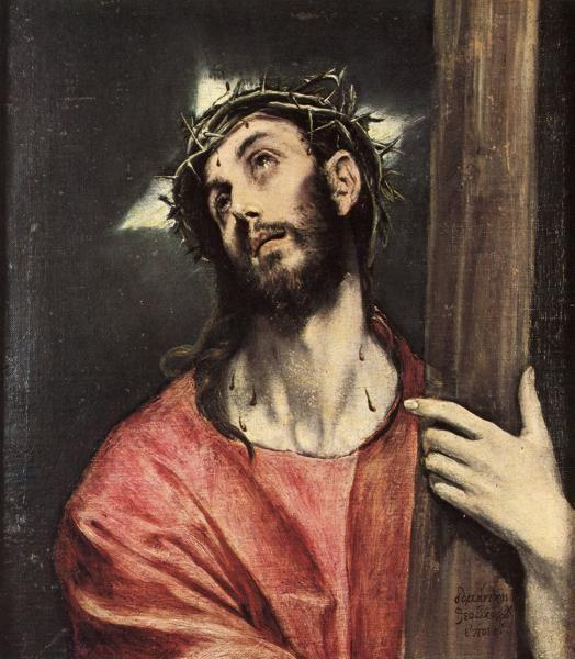 El Greco. Christ Carrying the Cross.